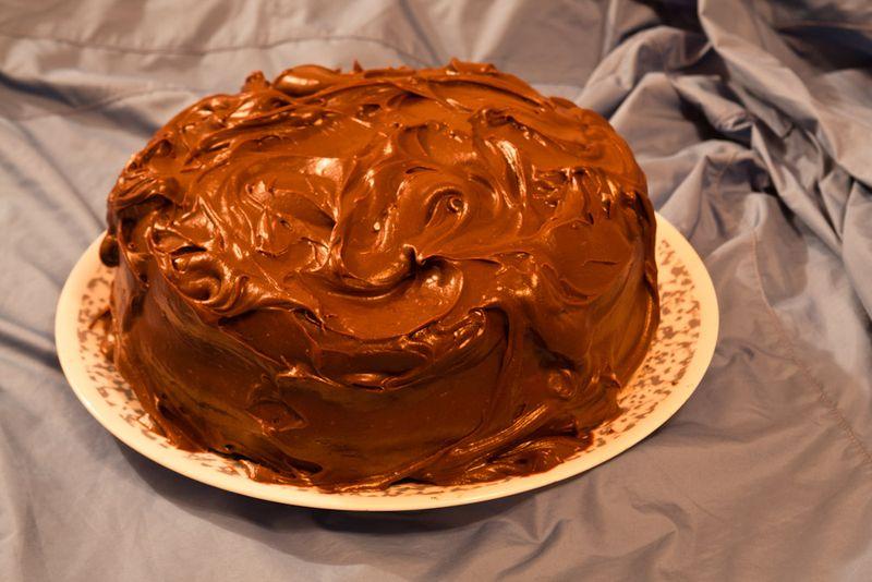 Aunt geneva's birthday cake